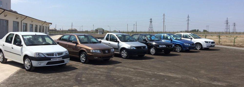 Iran's Auto Joint Venture Starts in Azerbaijan