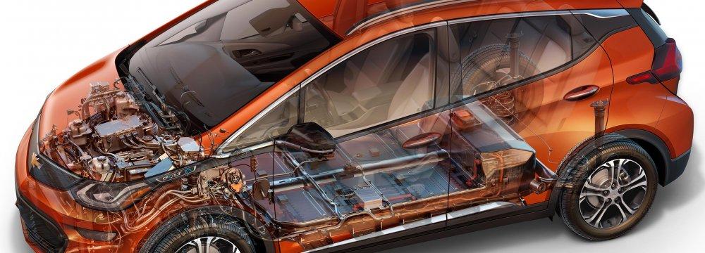 LG to Help Develop EV  for Iranian Market