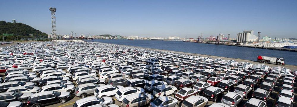 South Korean Car Exports Fall 13%