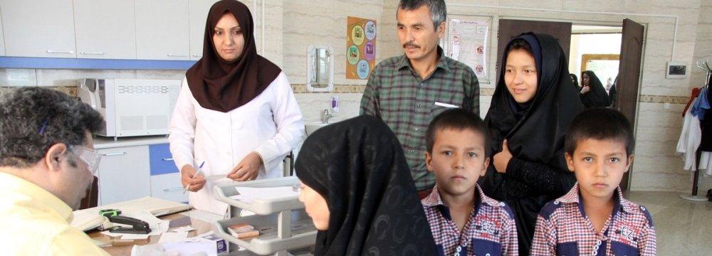 Hepatitis Screening  for Afghan Refugees