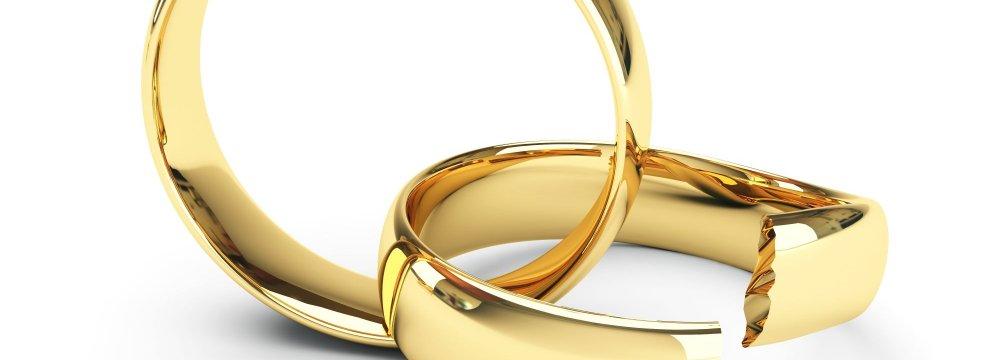 Divorce Rate High