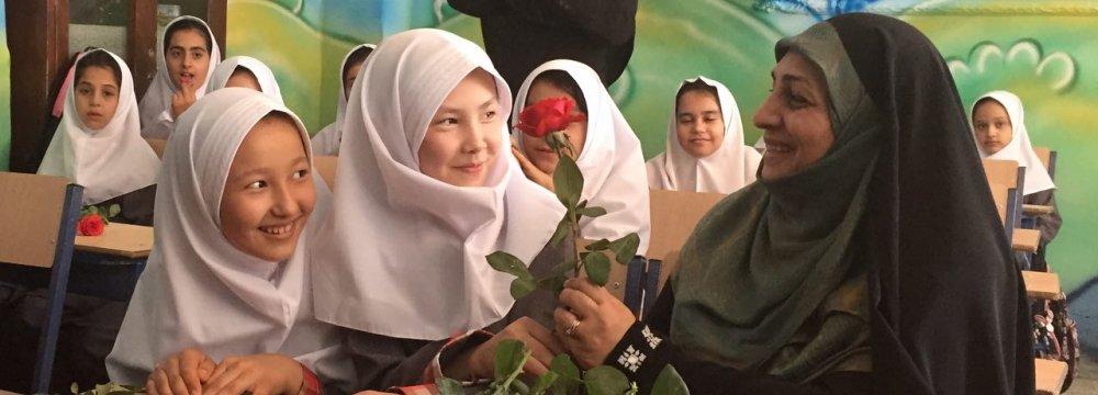 Schooling for All Afghan Refugee Children in Iran