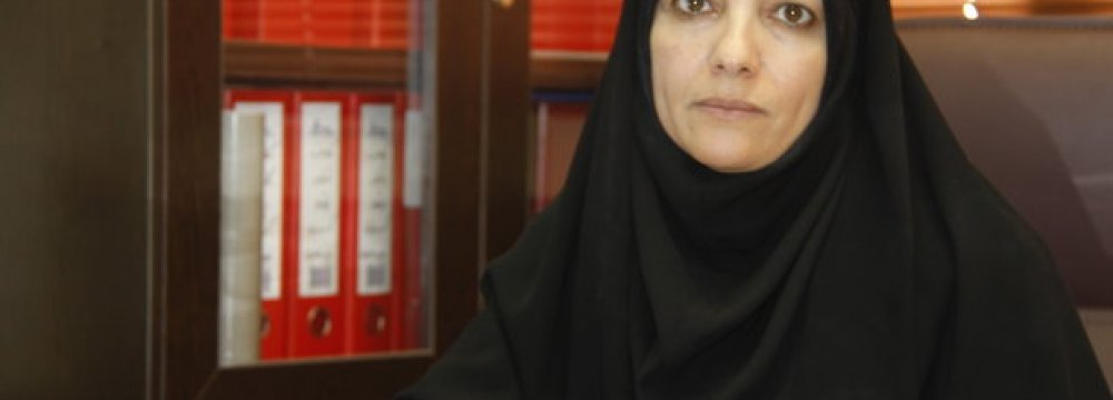First Woman Mayor in Shiraz District