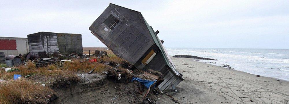 Climate Change Forces Alaskan Village to Move