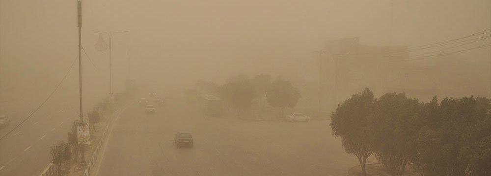 Dust Storms Batter Kurdestan