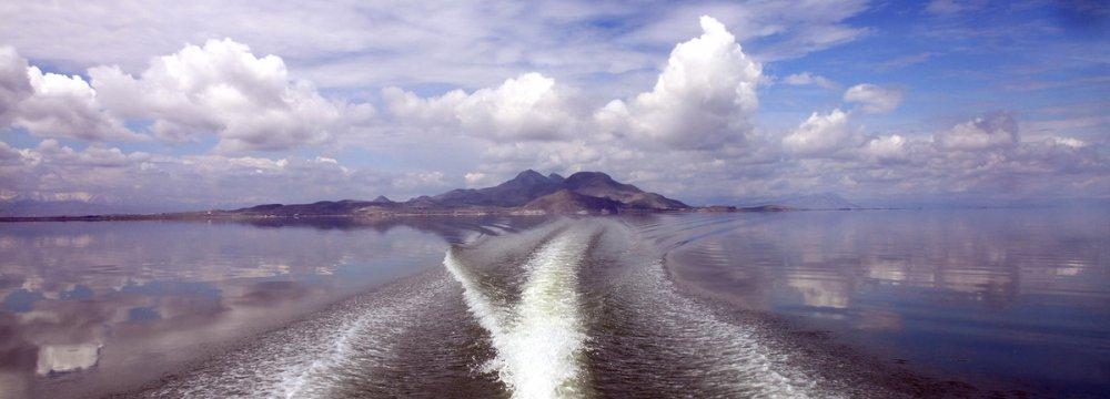Urmia Lake Restoration  Program Seemingly Effective