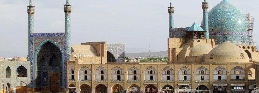 Isfahan's Imam Mosque Restoration in Progress