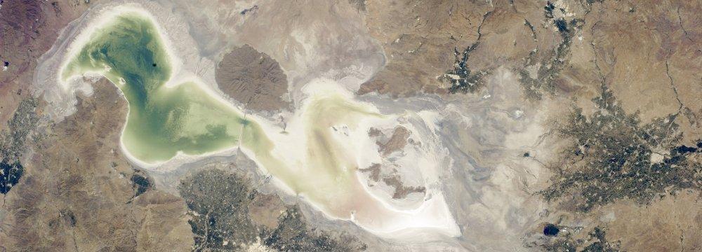 Urmia Lake Revival  Efforts Paying Off