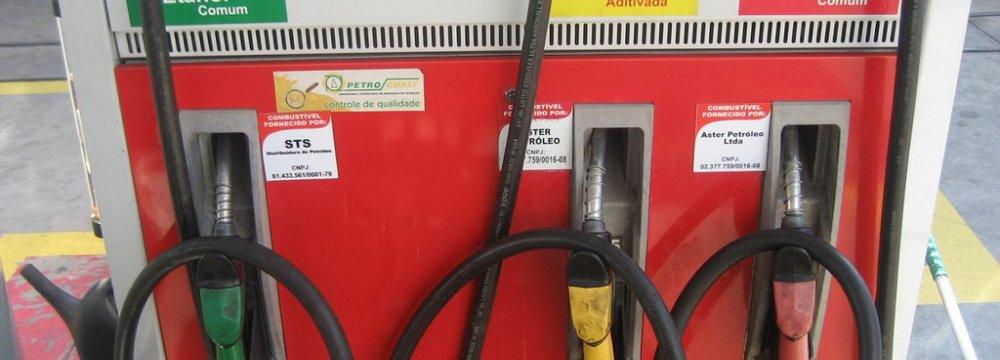 Brazil Fuel Sales Fall