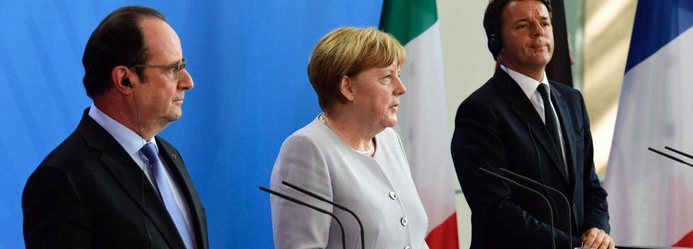 EU Leaders Rule Out Informal Brexit Talks