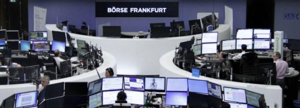 The Frankfurt Bourse.
