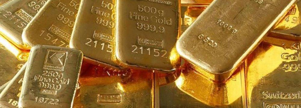 Gold Slides Below $1,300
