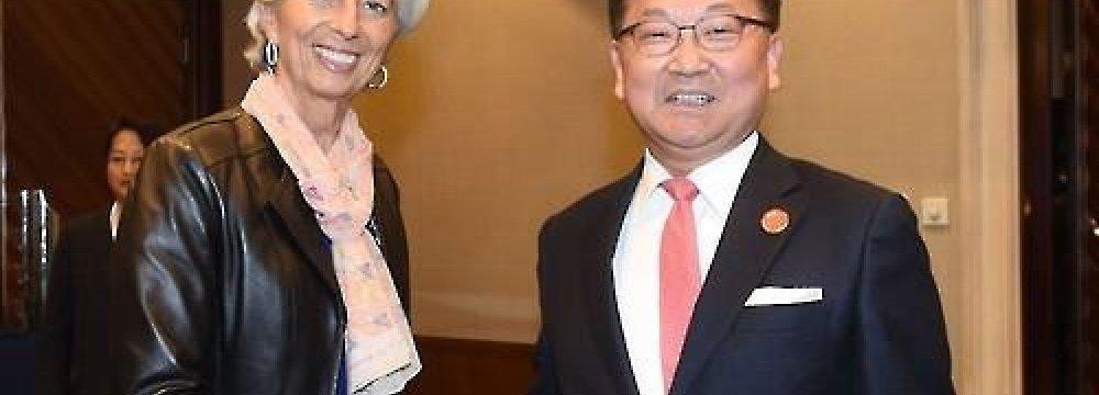 IMF Ups S. Korea Growth Forecast