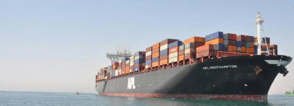 Suez Canal Revenue Rising