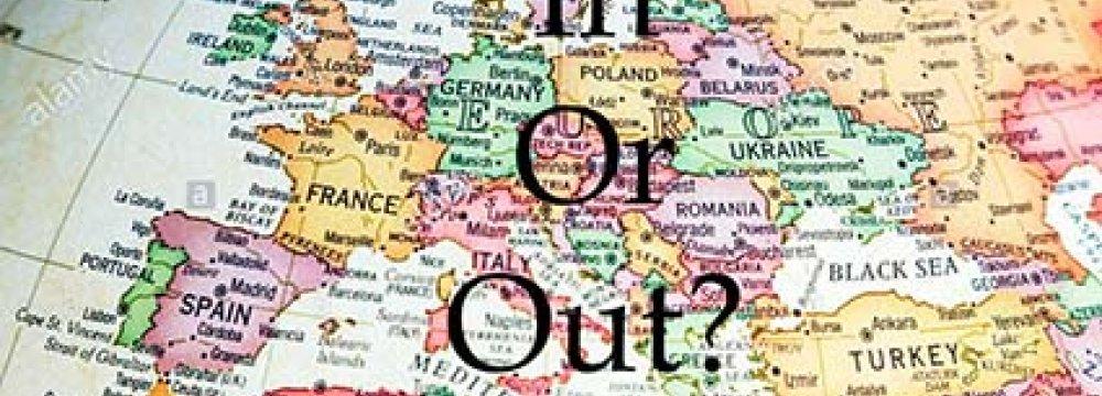 UK Should Leave 'Sinking' EU