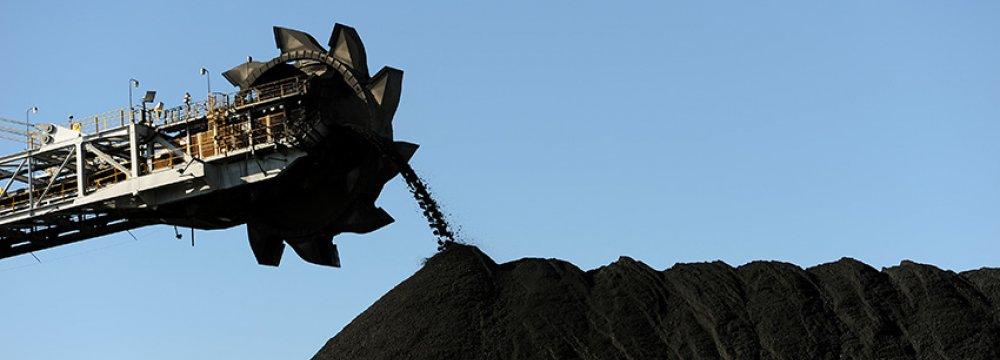 Coal mining in Australia.