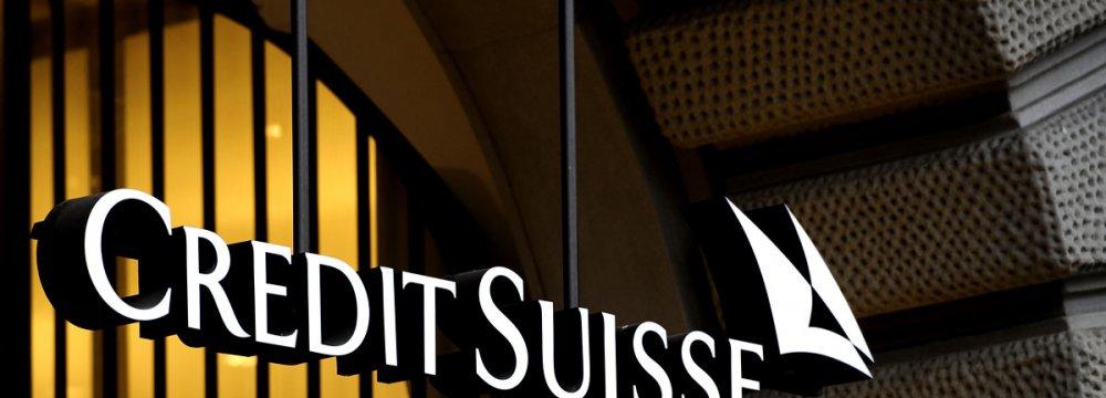 Credit Suisse Post $311m Q1 Loss