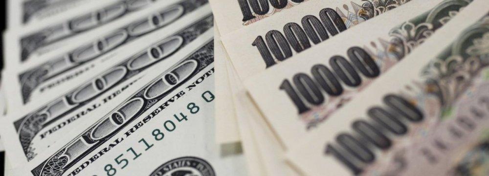 Investors Seek Safety in Yen