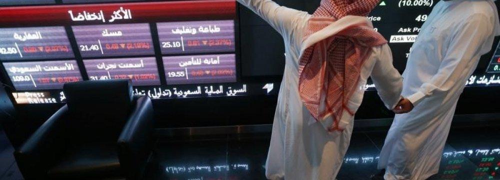 Most (P)GCC Stocks Plummet
