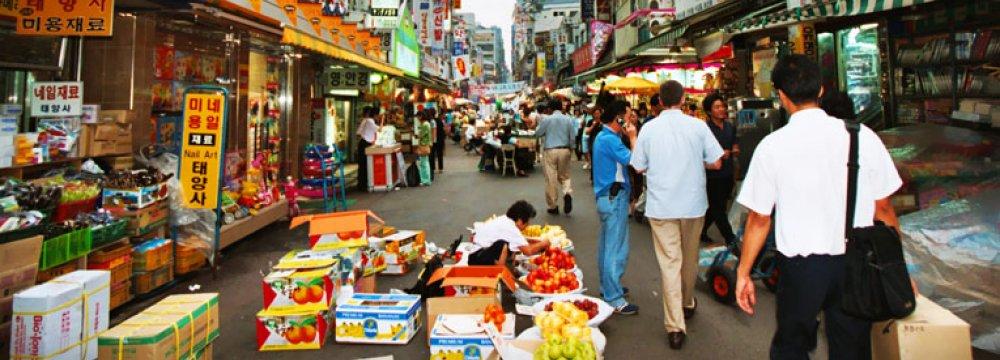 S. Korea Growth to Rise