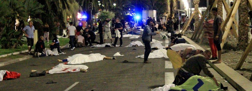 Truck Attacker Kills Dozens in France