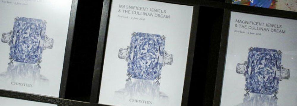 Blue Diamond Sells for $25m