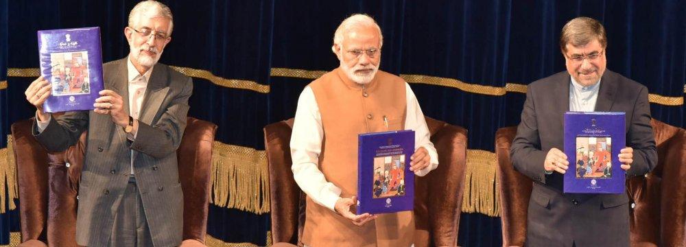 Indian PM Modi Addresses Tehran Cultural Conclave