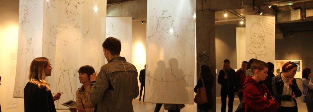 London Art Gallery Showcases Calais Migrant Crisis