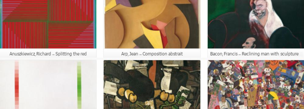 TMoCA Treasured Artworks  Now on Website