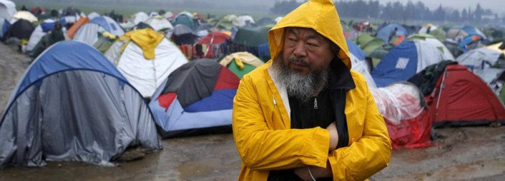 Ai Weiwei's Documentary Movie on Refugee crisis
