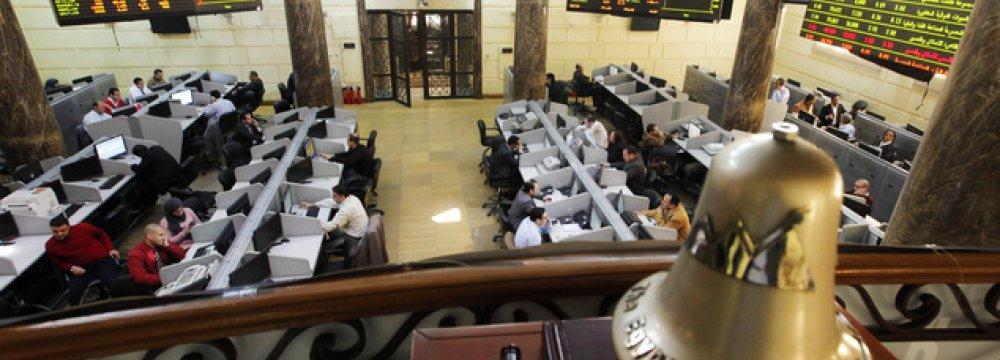 Devaluation Fears Up Egyptian Stocks