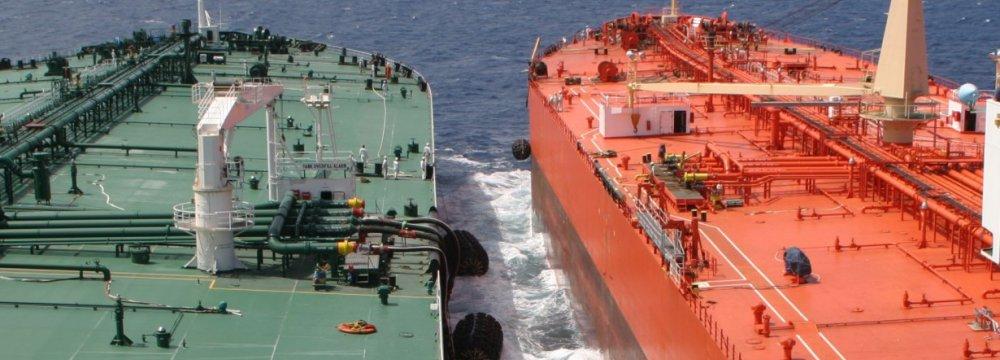 Kharg Terminal Starts STS Crude Transfer