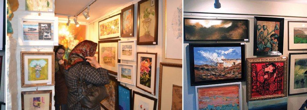 Golestan Gallery Holding Summer Exhibition