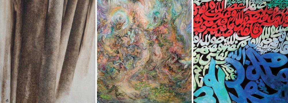 5th Tehran Auction Sells $7.4m Iranian Artworks