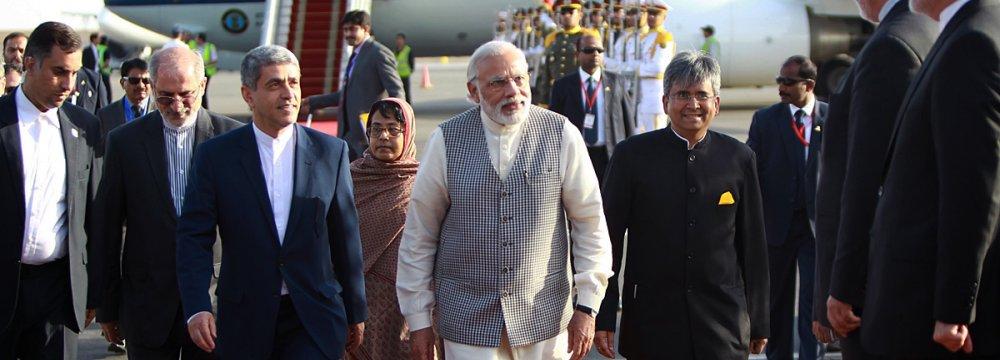 Indian Premier Arrives