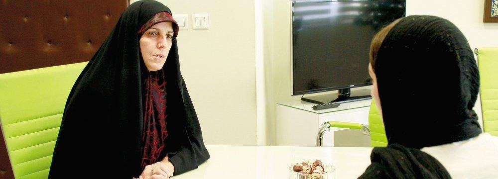 Molaverdi Navigates the  Labyrinth of Women's Issues