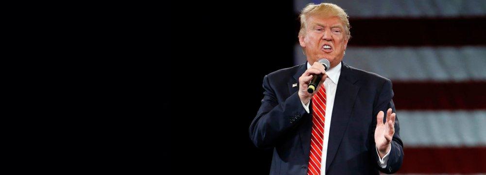 Trump Captures  Republican Nomination