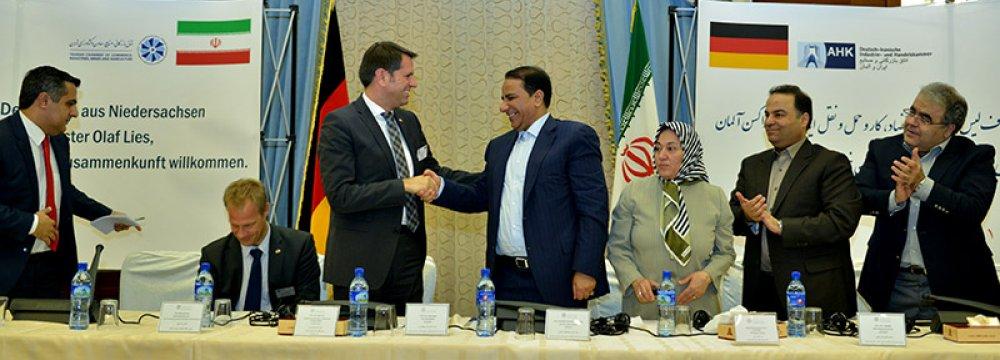 German Traders Make Second Visit to Iran