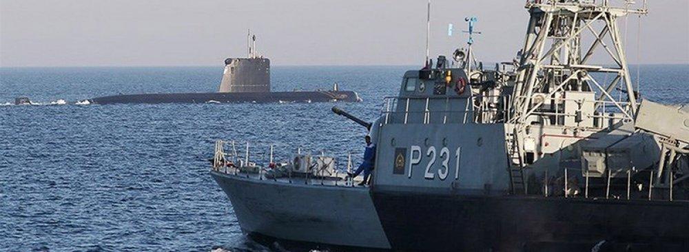 Iranian Navy Escorts 3,200 Ships