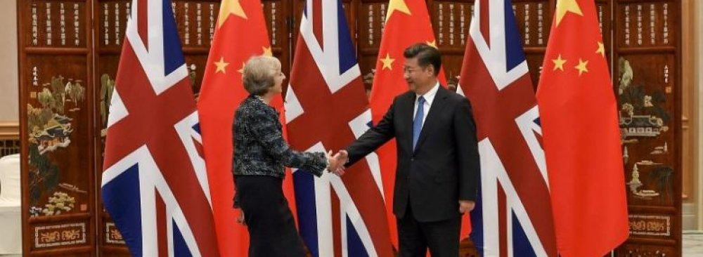 China Makes Overture to Britain