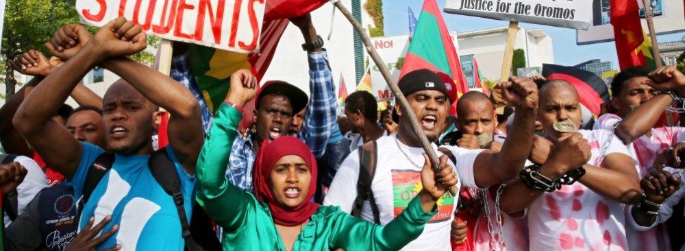 Ethiopia Fire Kills 23 in Prison
