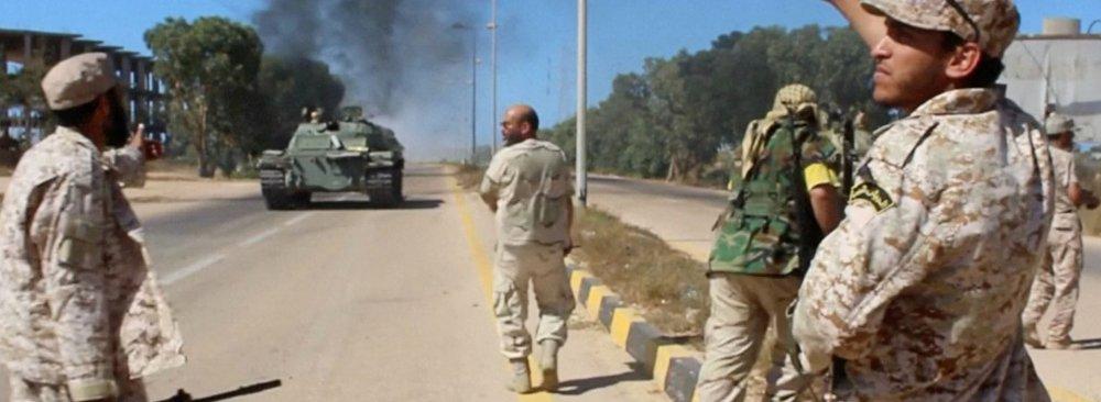 Libyan Forces Progress Against IS