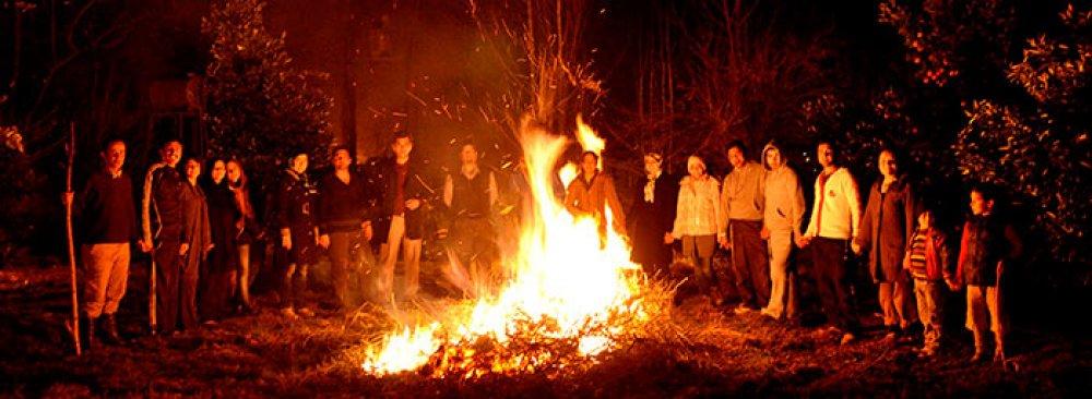 Ensafi's Book on Fire Festival