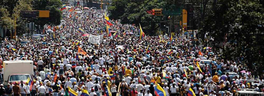 "Venezuela's political opposition says Thursday's mass demonstration—dubbed the ""taking of Caracas""—brought one million people into the streets demanding political change."