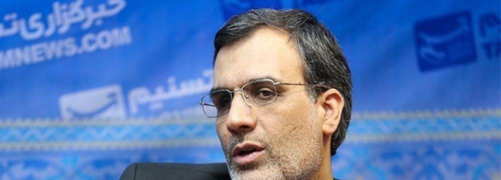 Tehran, Moscow Keen on Broadening Coop.