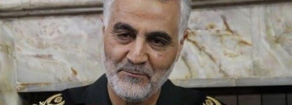 Soleimani Not to Enter Politics