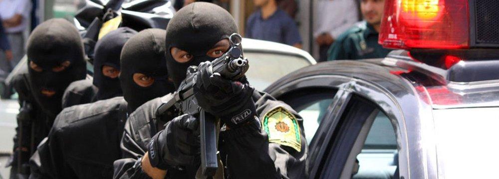 Terrorists Nabbed in Border Areas