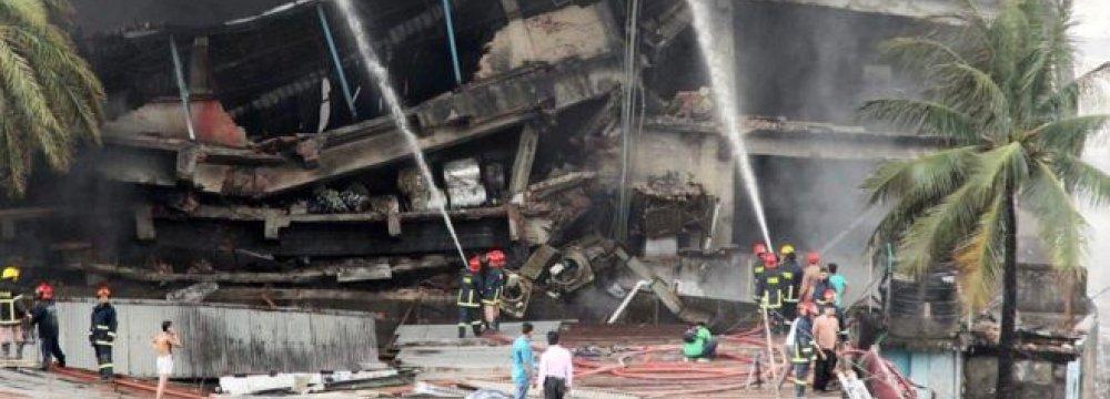 20 Die in Bangla Factory Fire