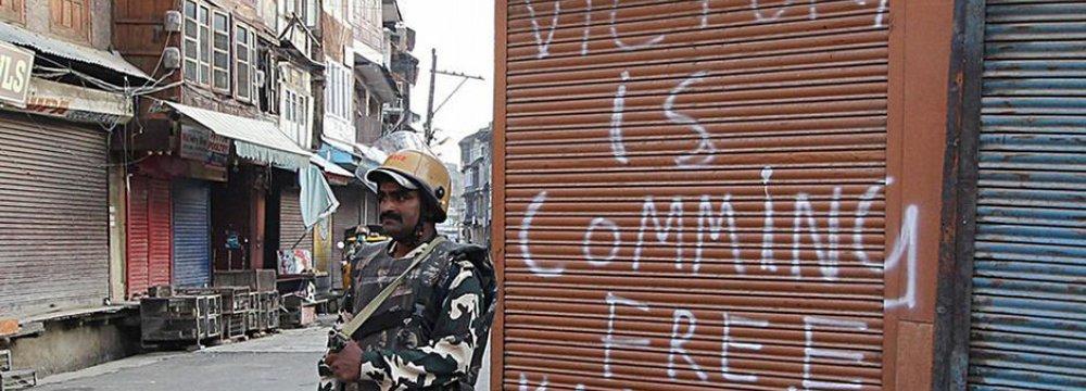 Deadly Firing Over Kashmir