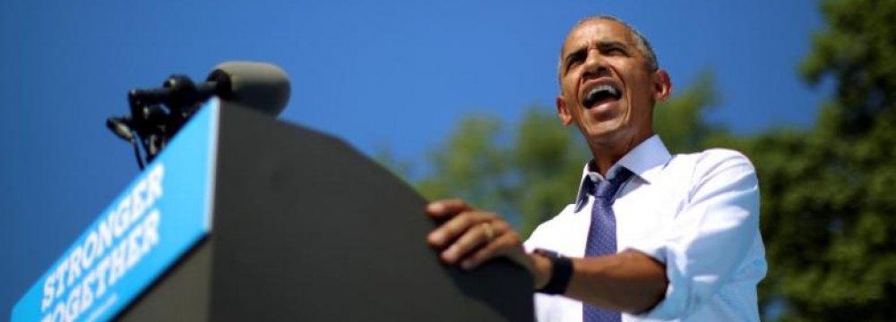 Kremlin: Obama's Anti-Russian Criticism Unhelpful